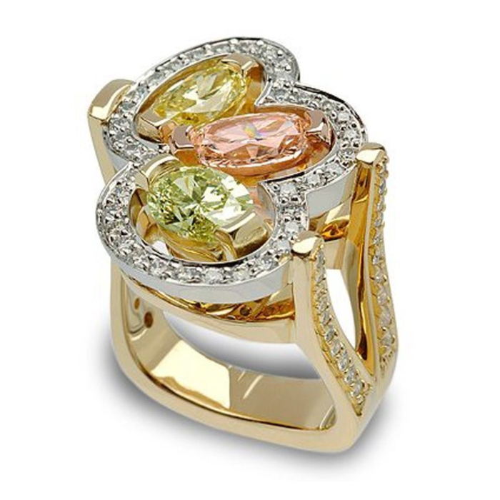 Masterpiece Fancy Color Diamond Fashion Ring